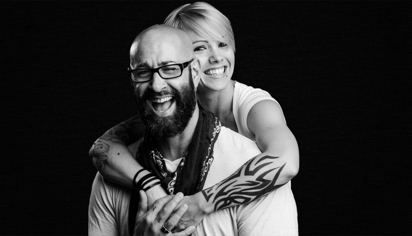 Brian and Carrie dish out life, love, and fitness advice on their daily live streams
